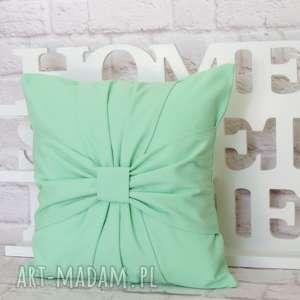 marima decor pastelowa miętowa poduszka dekoracyjna 40cm/40cm, poduszka