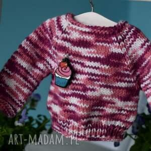 Sweterek dla lalki ok. 40 cm - hand-made