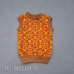 hand made bluzeczka bez rękawów - letni top