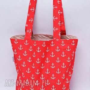 uszyciuch torba na zakupy shopperka ekologiczna zakupowa ramię eko