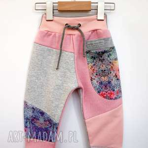spodnie dziecięce patch pants 110 - 152 cm, dres dla dziewczynki, do szkoły