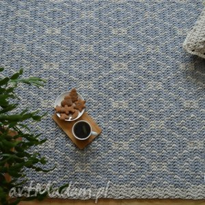 petelkowo dywan w romby, dywan, wzory, skandynawski, nordic, chodnik dom