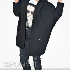 Bien Fashion Długa bluza damska otwarty kardigan oversize, luźna, szeroka