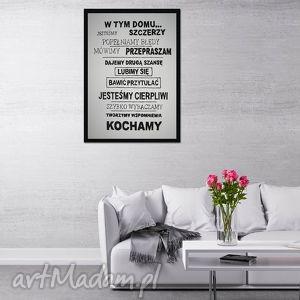 OBRAZ RĘCZNIE MALOWANY - CYTAT 02 70x50cm, obraz, cytat, płótno