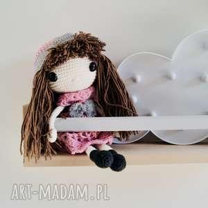 hand made lalki timosimo - laleczka na szydełku pola