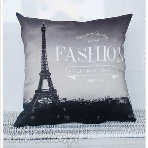 poduszka dekoracyjna paris fashion retro vintage 6141, poduszka, poszewka