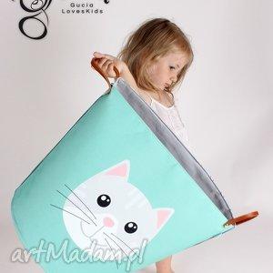 handmade pokoik dziecka ogromny pojemnik z kotem