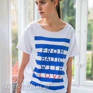 from baltic oversize t-shirt, oversize, tshirt, biały, moda, casual, bawełna