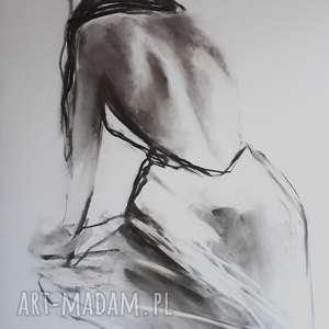 Woman 100x70 dom galeria alina louka duży obraz kobieta, duża