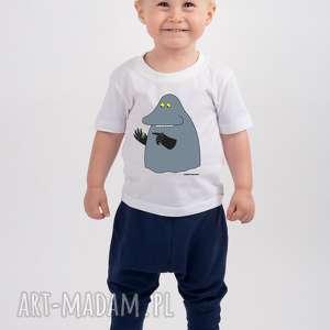 Prezent Licencjonowana koszulka dziecięca z Buką , t-shirt, muminki, mala-mi