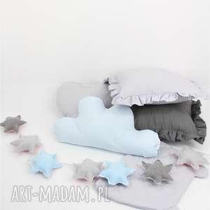 Ozdobne poduszki, poduszka, gwiazda, misio, girlanda, królik, podusia
