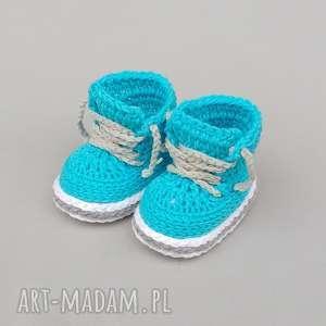 buciki tramki stanford, buciki, trampki, prezent, dziecięce, niemowlęce, bawełniane