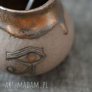 matero z okiem horusa, matero, yerba, mate, horus, egipt, prezent
