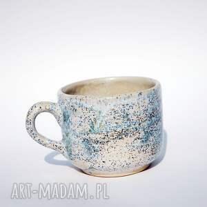 kubki kubek śnieżynka, kawa, nakrapiana, herbata, wyjątkowy, duży, unikalny