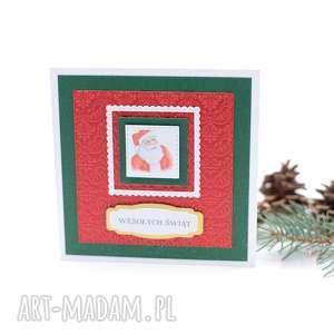 hand-made pomysł na prezent świąteczny kartka świąteczna - boże narodzenie