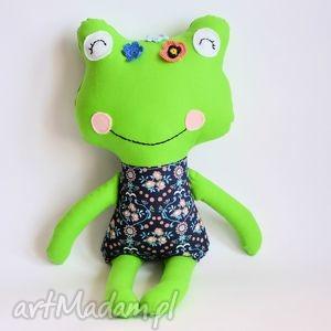 panna Żabka - wandzia - 46 cm - żabka, dziewczynka, maskotka, przytulanka, zabawka