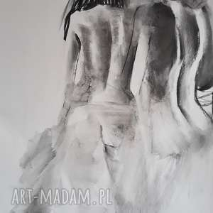 akty 100x70, duży-obraz, rysunek-węglem, akt-obraz, kobieta-obraz, kobieta-grafika,