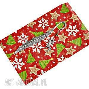 renifer - śwąteczna zakładka do książki, zakładka, święta, prezent, mikołaj