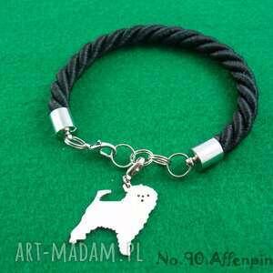 Bransoletka pinczer małpi pies nr.90, bransoletka, pies, rasy-psów, rękodzieło
