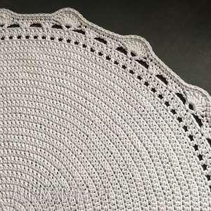 dywan ze sznurka baweŁnianego 140 cm - dywan, chodnik, rękodzieło, sznurek