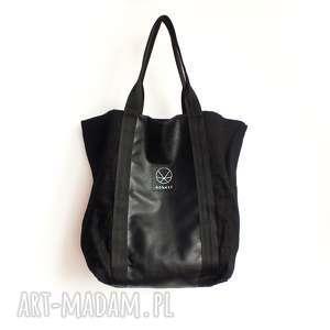 torba torebka xxl z konpi - ekologiczna, wegańska, street, ulica, pojemna, konopia