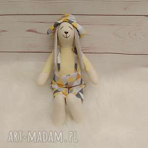 maskotki króliczek tilda przytulanka, króliczek, antyalergiczna