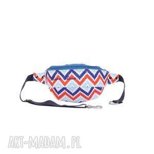 NERKA SASZETKA AZTEC, kolorowa, modna, pojemna, na-rower, na-wyczieczki, wygodna
