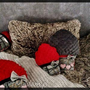 poduszki muffinki - muffinki, mufinki, poduszki, przytulanki, love, serce