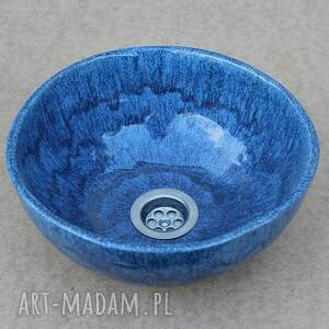 ceramika umywalka hand made, unikatowa umywalka, polska ceramika