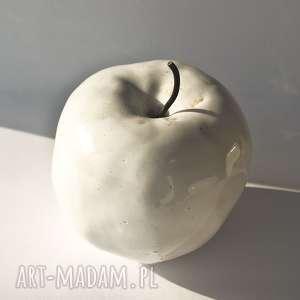 Prezent jabłko ceramiczne, jabłko, ceramika, dekoracja, prezent, owoc, owoc-ceramika