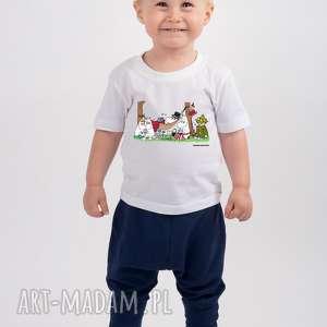 hand-made koszulki licencjonowana koszulka dziecięca muminki piknik