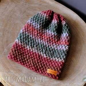 the wool art ciepła czapka z organic merino, czapka, beanie