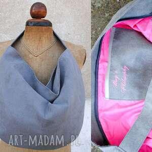 hand-made torebki hobo true colors - popiel
