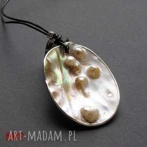 hand-made naszyjniki naszyjnik nienarodzone perły