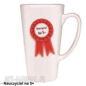 handmade kubki kubek latte nauczyciel na