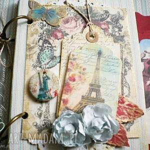 Notes w stylu paryskim,400 stron na zapiski:), paryż, kobiecy, stylowy, romantyczny