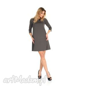 6f3663ddd9 ... sukienki sukienka rozkloszowana c szara