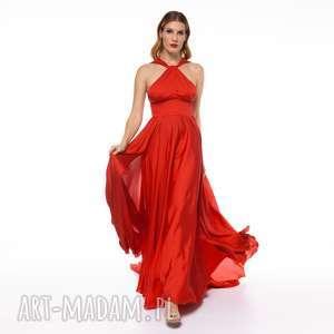 Suknia mia sukienki pawel kuzik gala, tren, wesele, dekolt