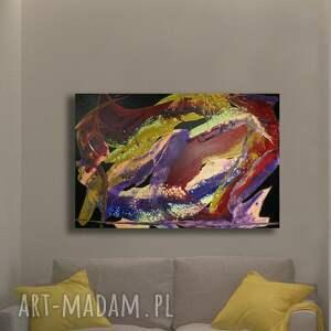 zawiłości 4, abstrakcja, obrazdosalonu, barwny, unikat