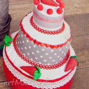 tort girlanda - rekwizty sesji fotograficznych, tort, tkanina, szyty, sesja