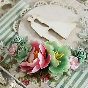 Kartka ślubna w pudełku, 176 - ,kartka,ślubna,ślub,wesele,