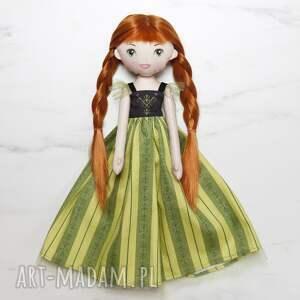 lalki lalka stylizowana na księżniczkę annę frozen 1, lalka, laleczka