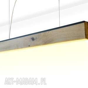 Lampa RIFT 140 cm, Dół, stare-drewno, loft, nowoczesny, industrial, z-odzysku