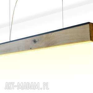 Lampa rift 140 cm, dół gmo design stare drewno, loft, nowoczesny