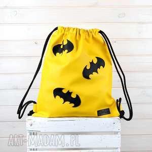 Oryginalny worek plecak wodoodporny Batman , torba, worek, plecak,