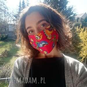 Maseczka, maska dwuwarstwowa ochronna do wielokrotnego użytku