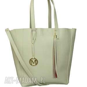 duża torba klasyczna 2w1 beżowa, 2w1, torebka, dużatorba, wygodna, praktyczna
