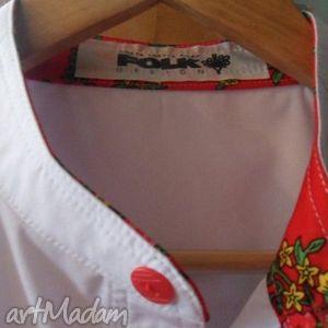 męska koszula folk design sygnowana dla stanisława karpiela bułecki, folk