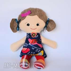 Cukierkowa lala - Aldona 40 cm, lalka, ptaszek, kolorowa, dziewczynka, bezpieczna
