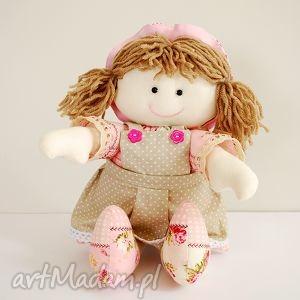 lalka, lala, zabawka, przytulanka, szmacianka, różowa